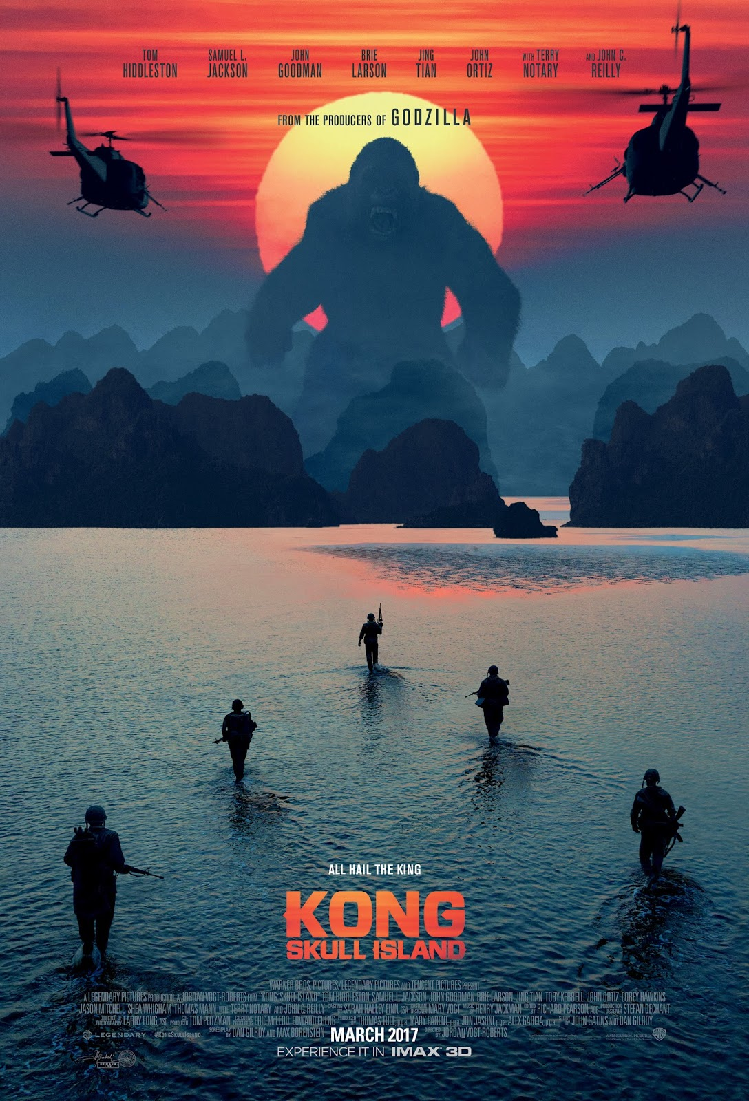 Kong: Skull Island poster official