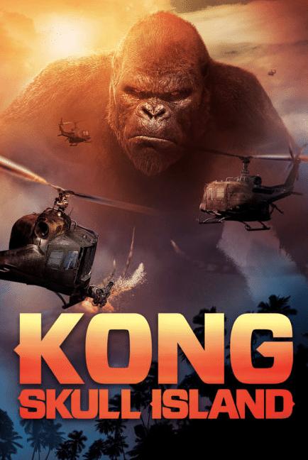 Kong: Skull Island king kong poster