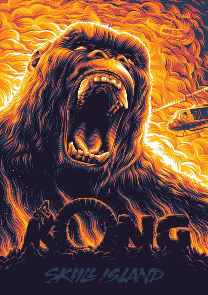 King Kong of Kong: Skull Island poster