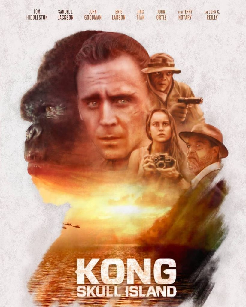 King Kong:Skull Island poster