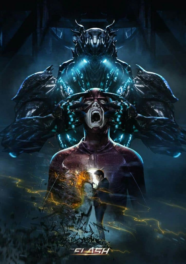 The Flash Savitar poster