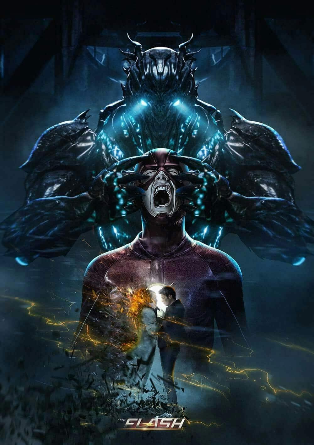 The Flash Savitar poster