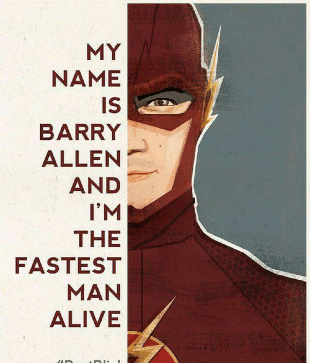 The Flash fastest man alive poster