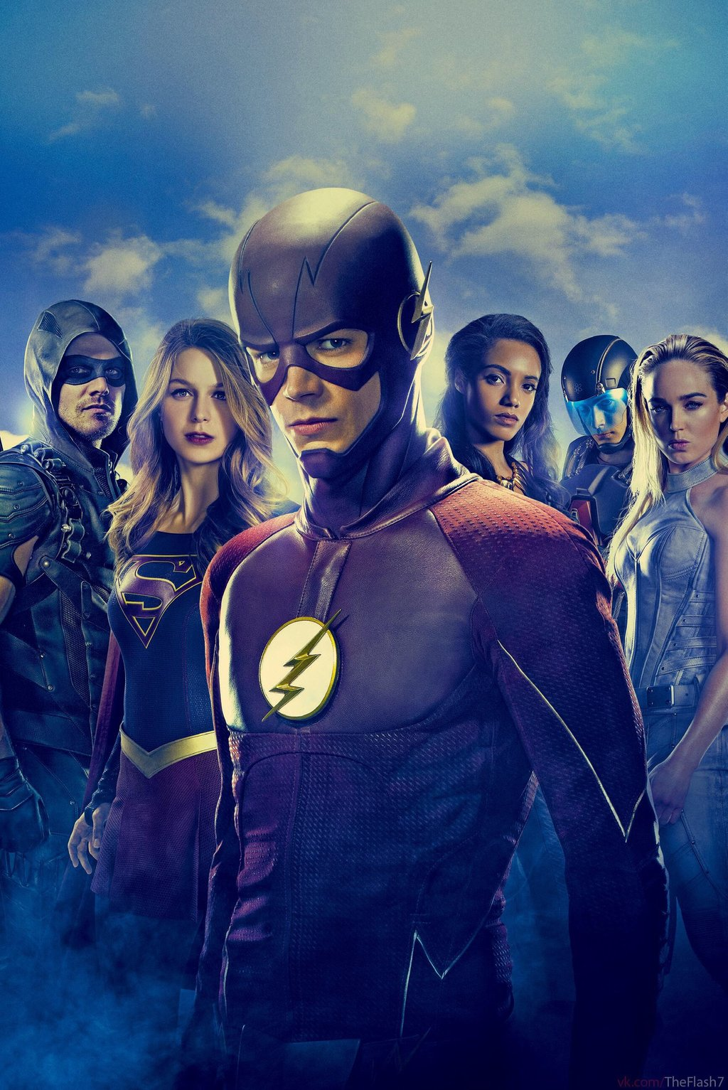 The Crossover Flash poster