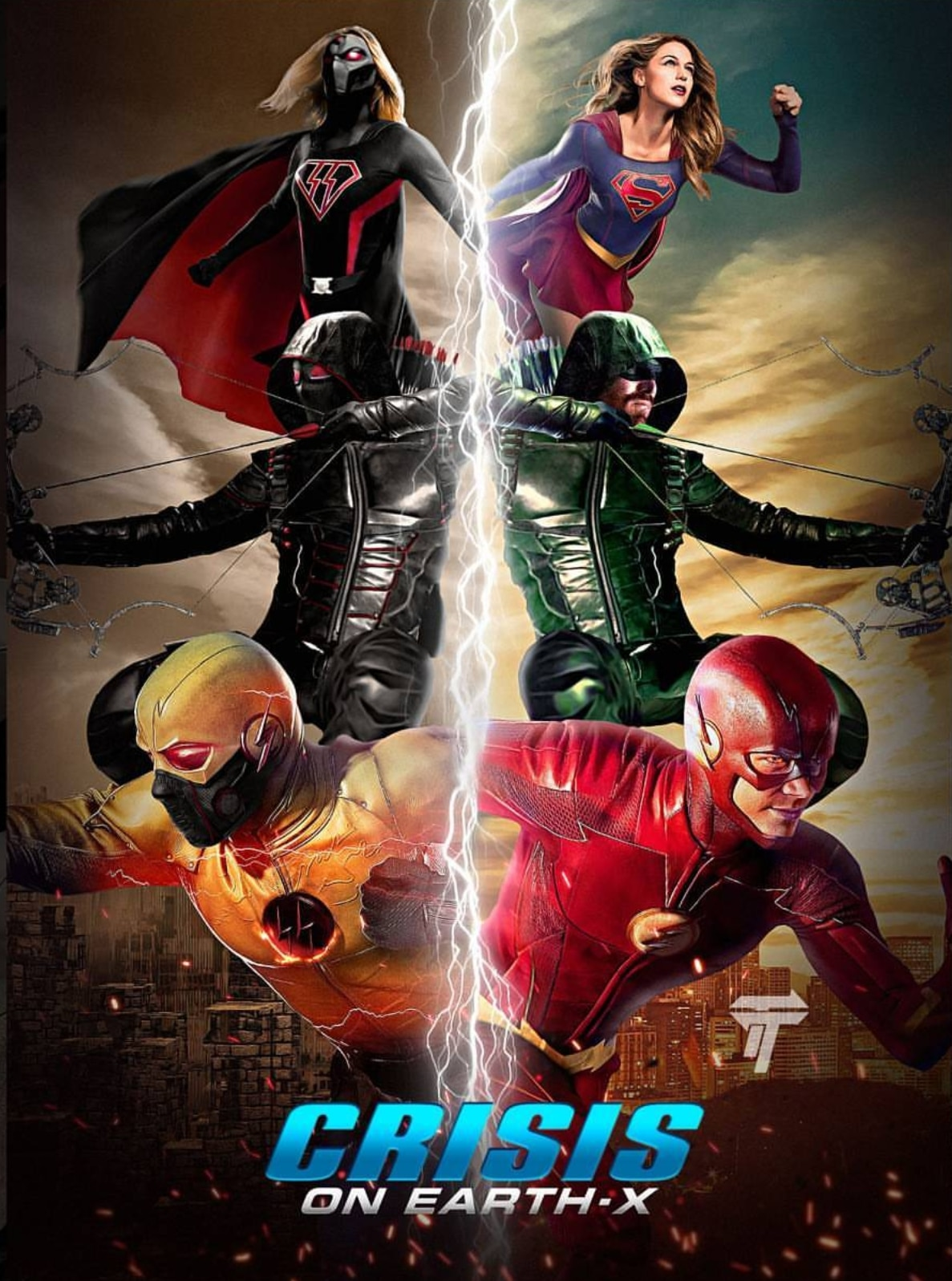 The Flash season 4 crossover poster