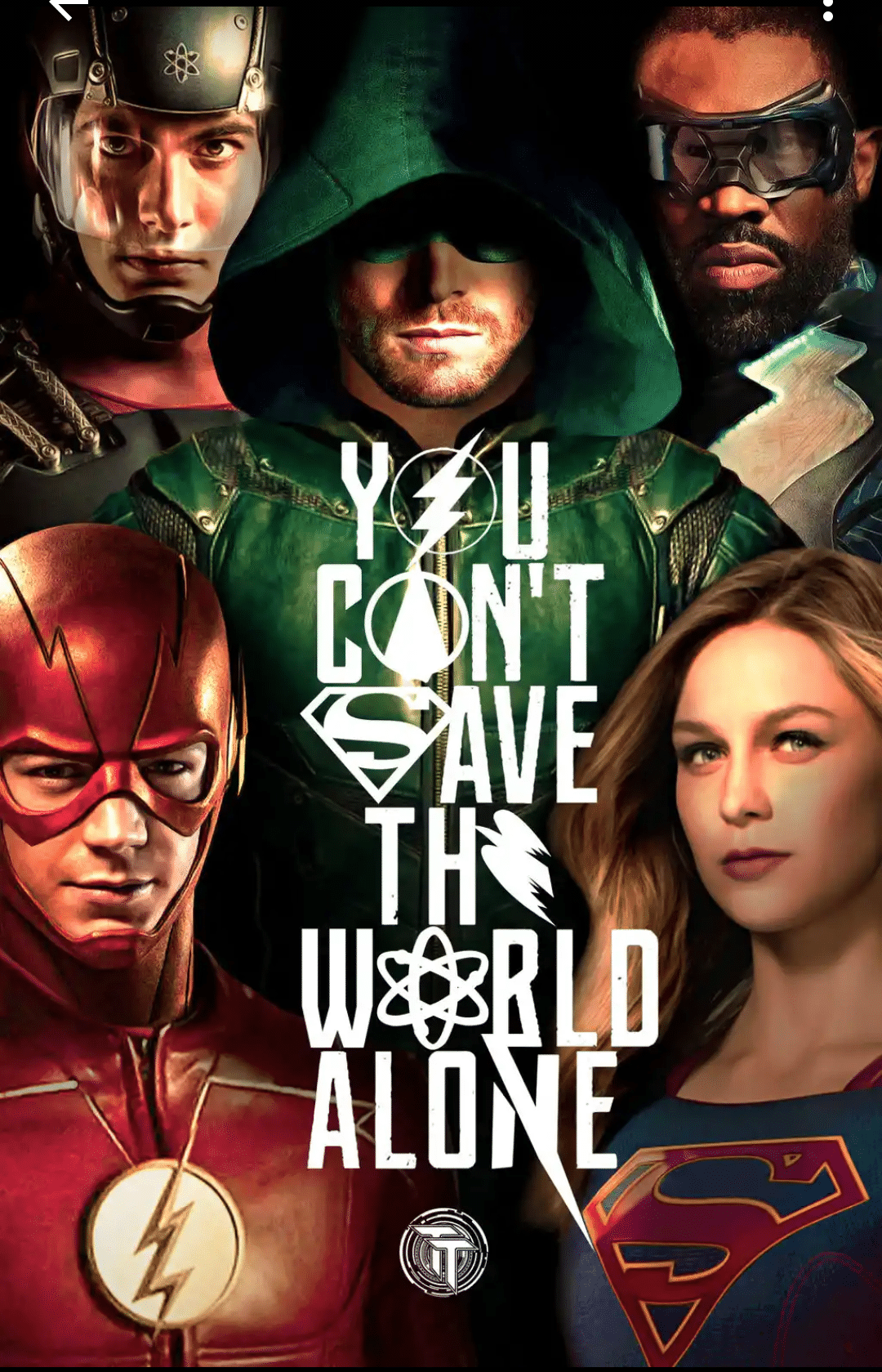 The Flash Season 3 crossover poster