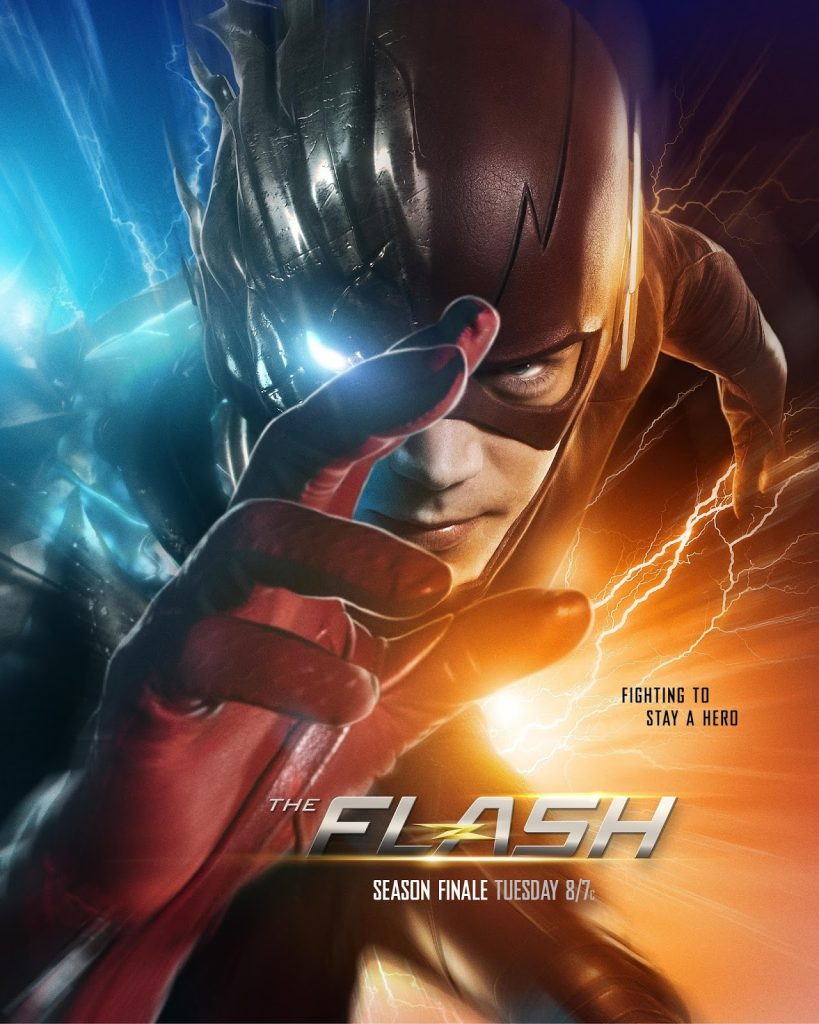 The Flash and Savitar poster