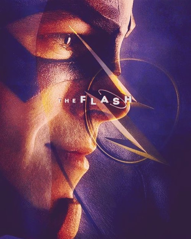 The Flash Barry Allen poster