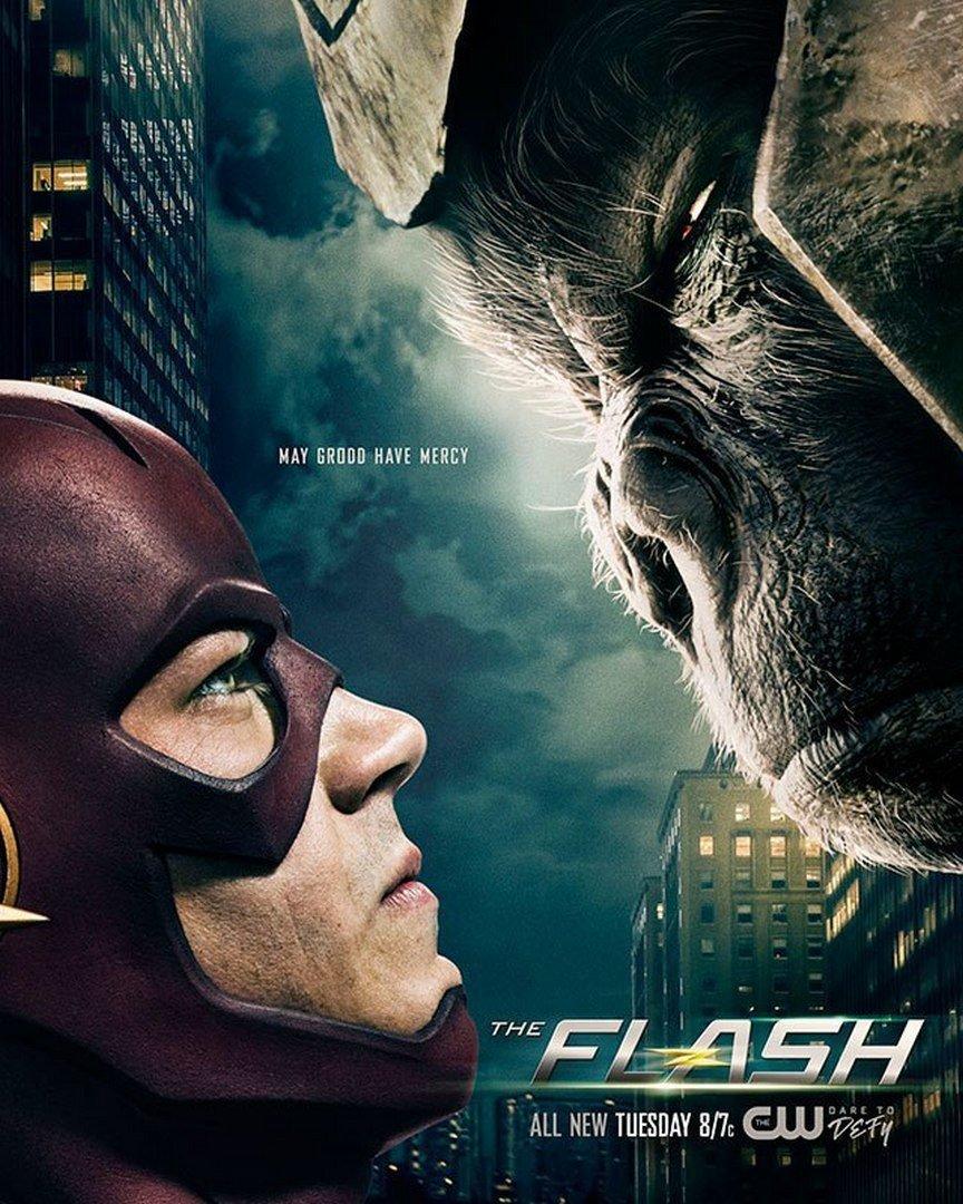 The Flash poster Gorrilla grodd