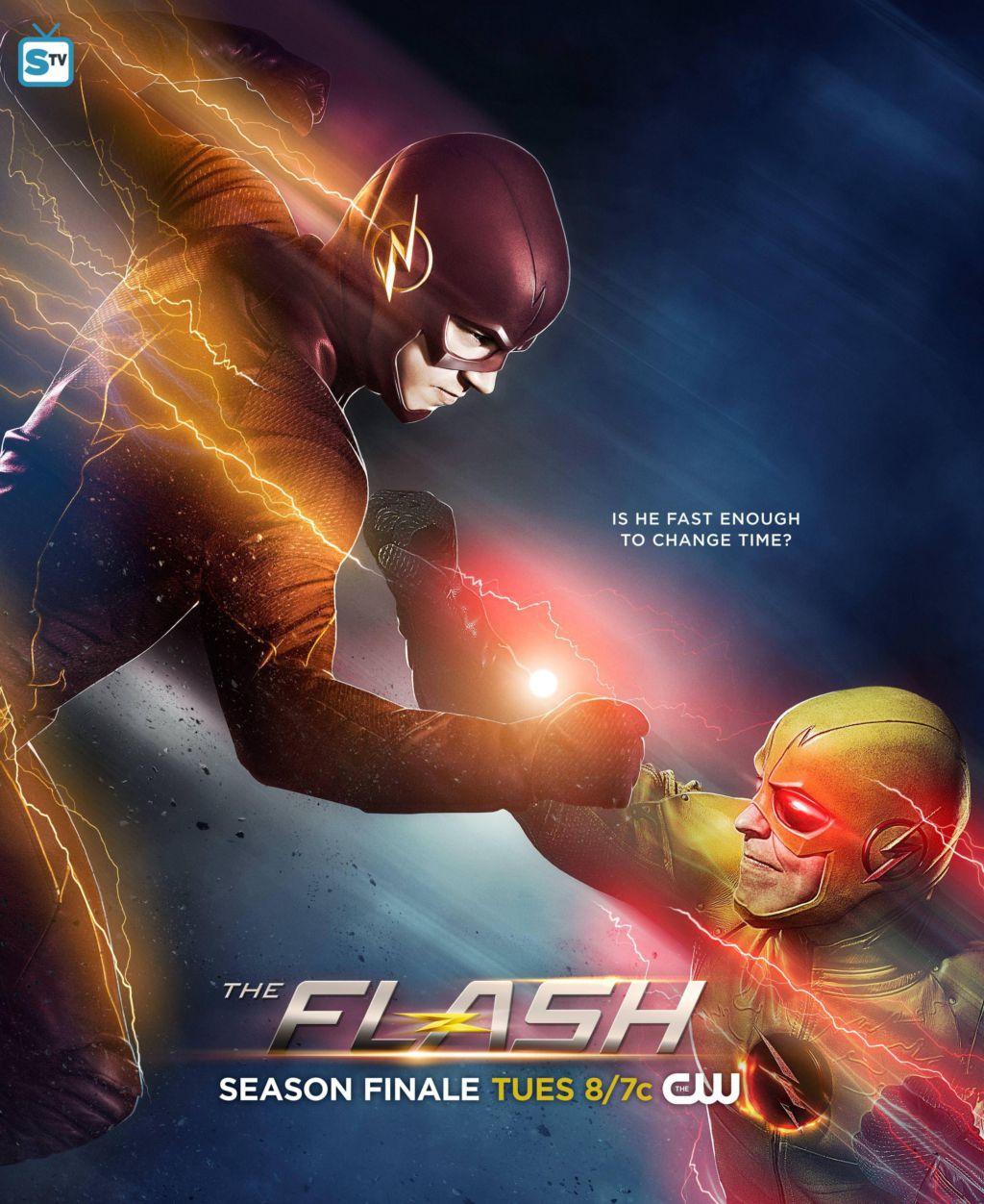 The Flash vs Reverse Flash poster