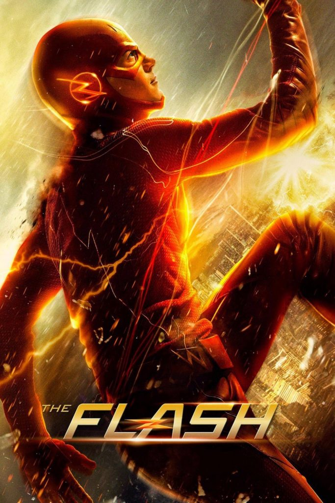 The flash poster Barry allen