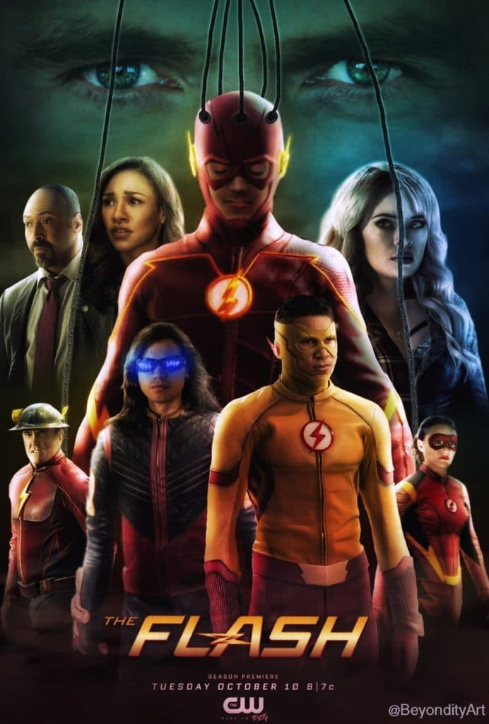 The Flash poster Season 4