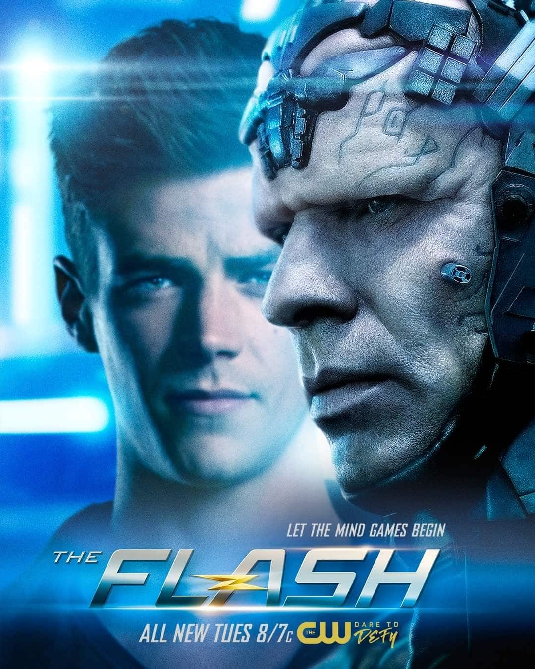 The flash season 4 official poster
