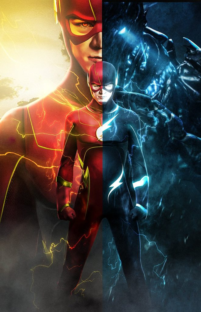 Future barry is Savitar poster