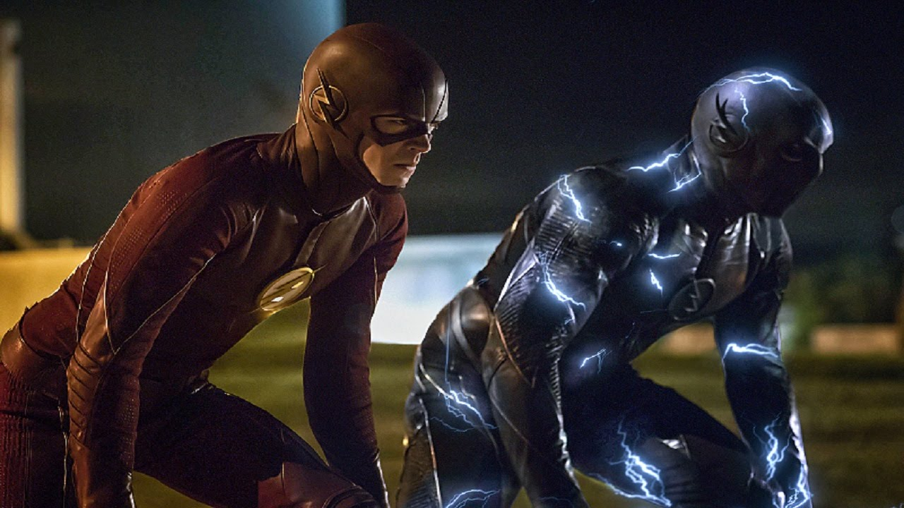 The flash vs Zoom race poster