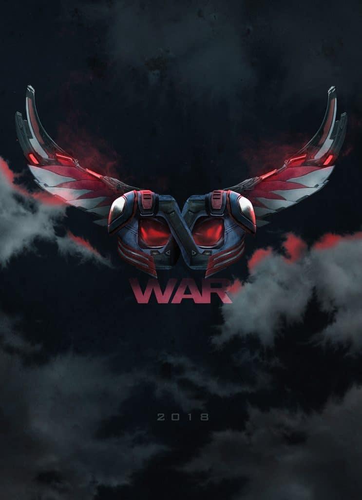 Avengers Infinity War posters by BossLogic Falcon