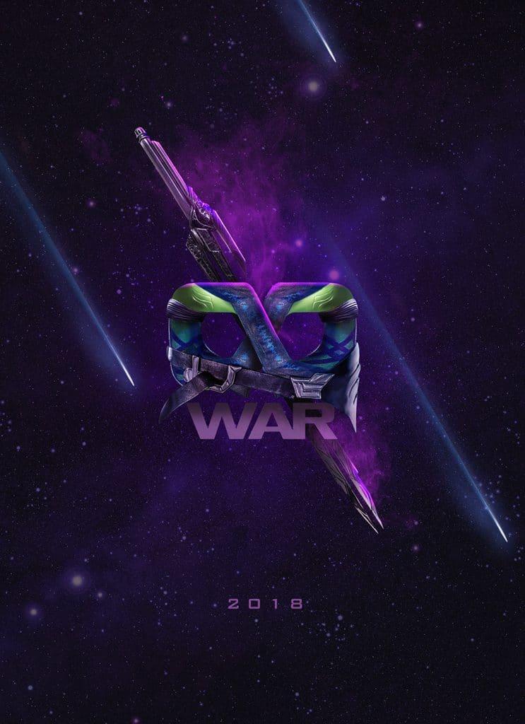 Avengers Infinity War posters by BossLogic Gamora