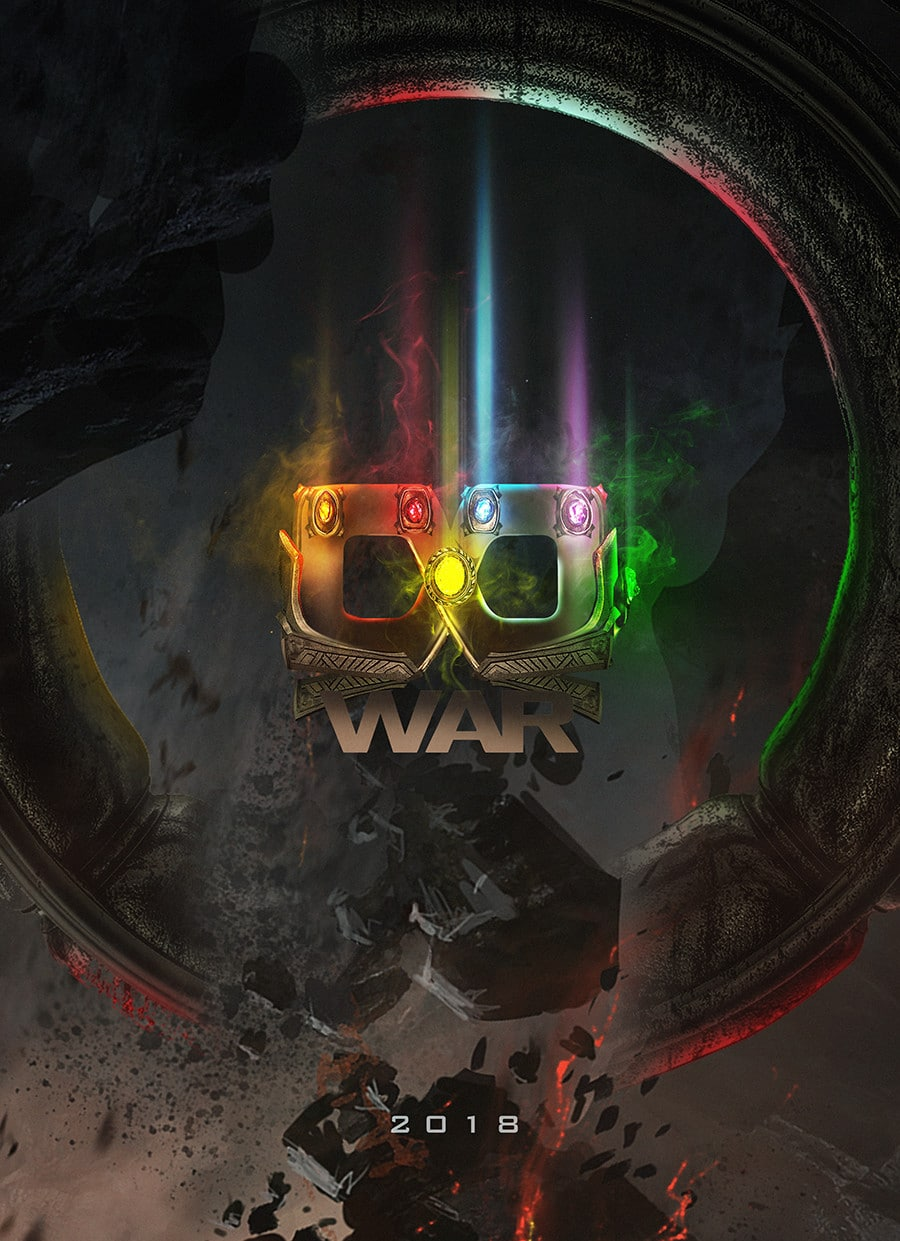 Avengers Infinity War posters by BossLogic Infinity Stones