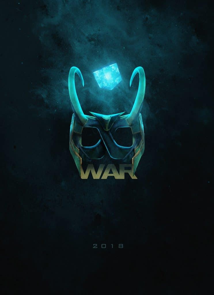 Avengers Infinity War posters by BossLogic Loki