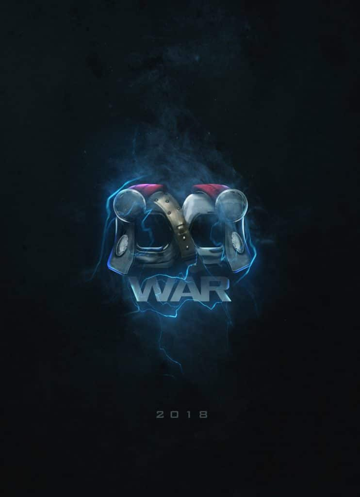 Coolest Avengers Infinity War posters by BossLogic Thor