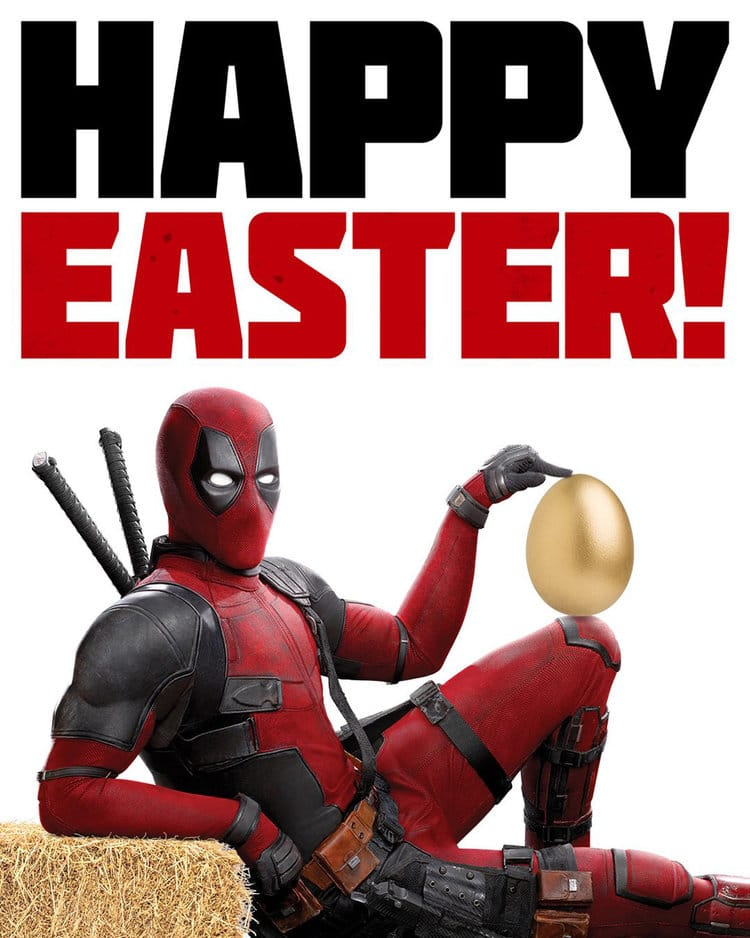 Deadpool 2 Happy Easter Poster - Latest