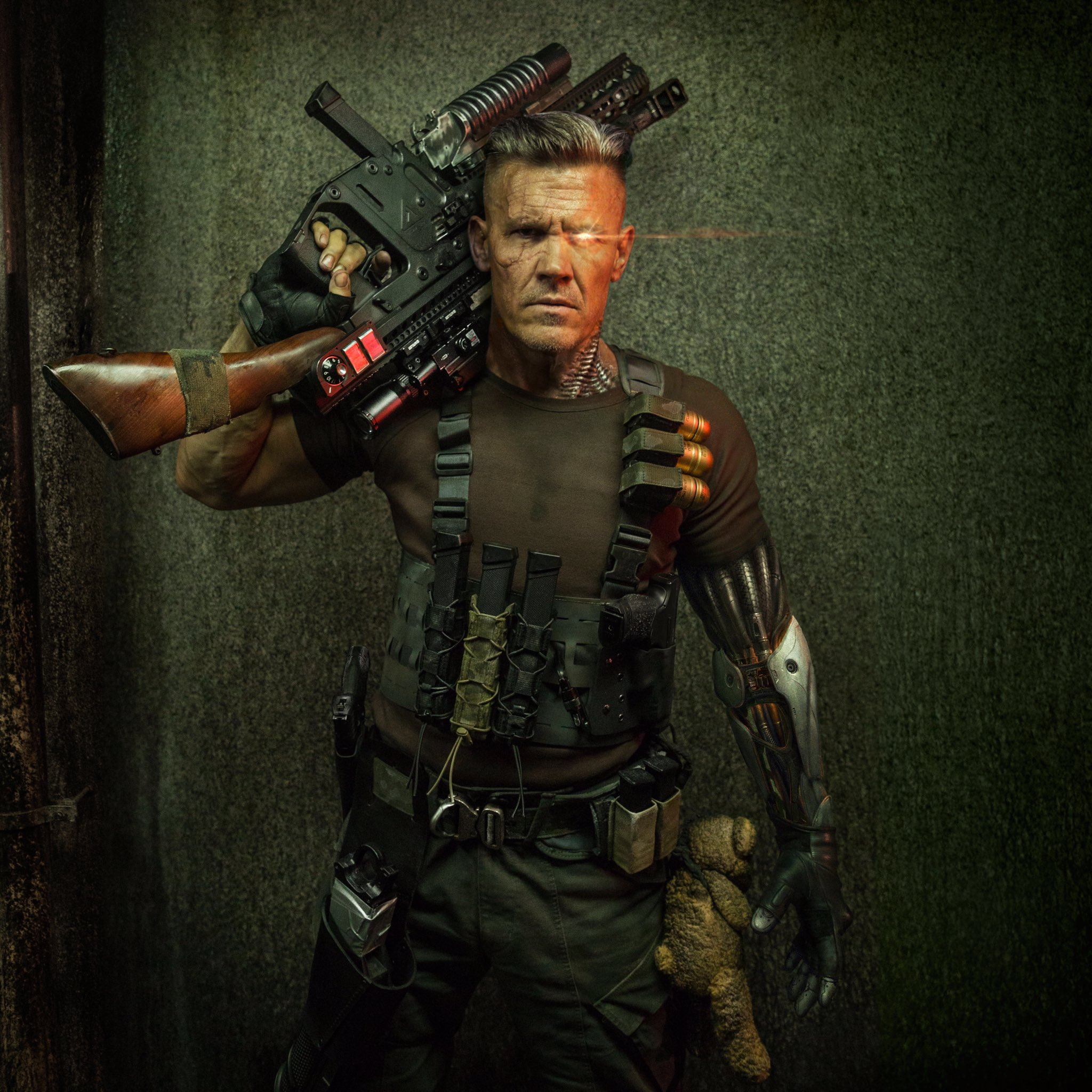 Deadpool 2 Official Poster - Cable