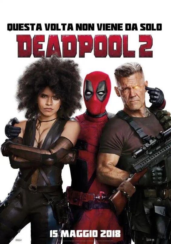 Deadpool 2 Poster Official