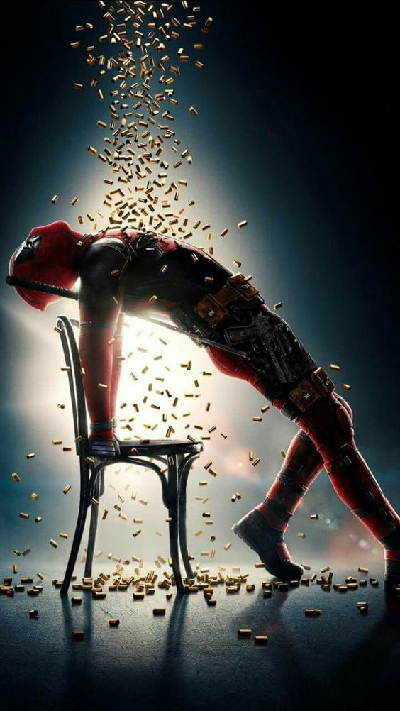 Deadpool 2 Official Poster - Flashdance