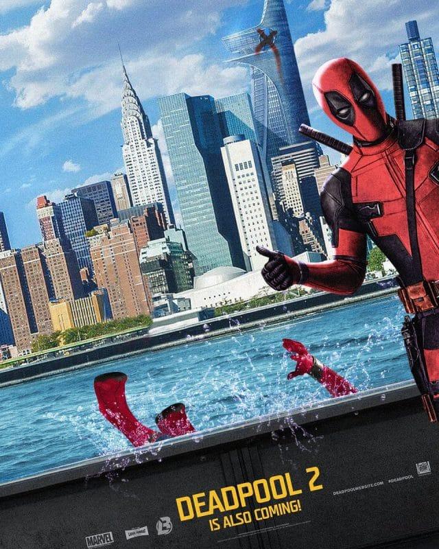 Deadpool 2 Parody Poster - Spiderman Homecoming