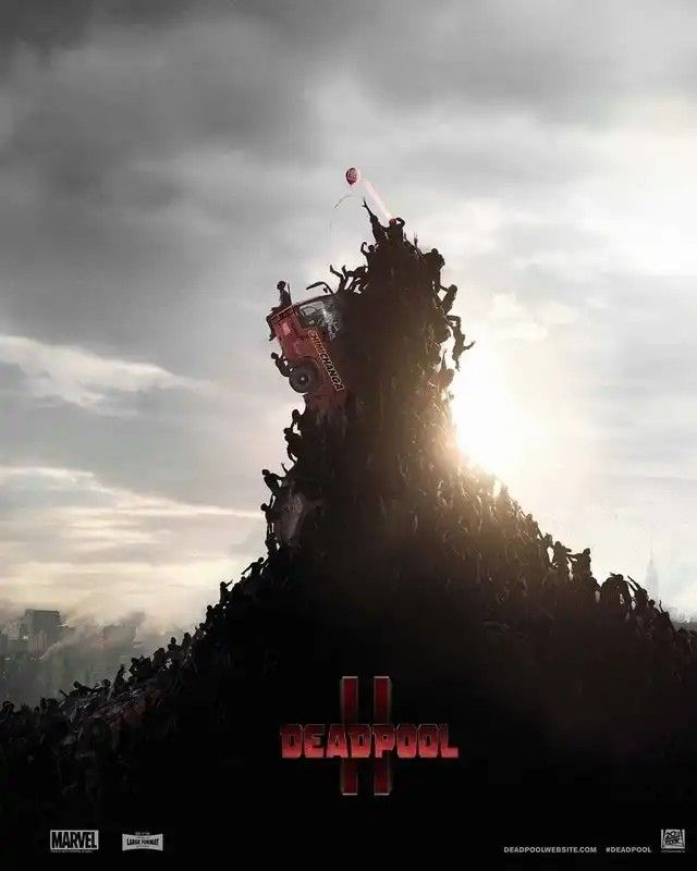 Deadpool 2 Parody Poster - World War Z