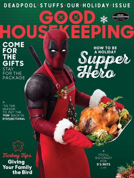 Deadpool 2 Thanksgiving Poster - Supper Hero