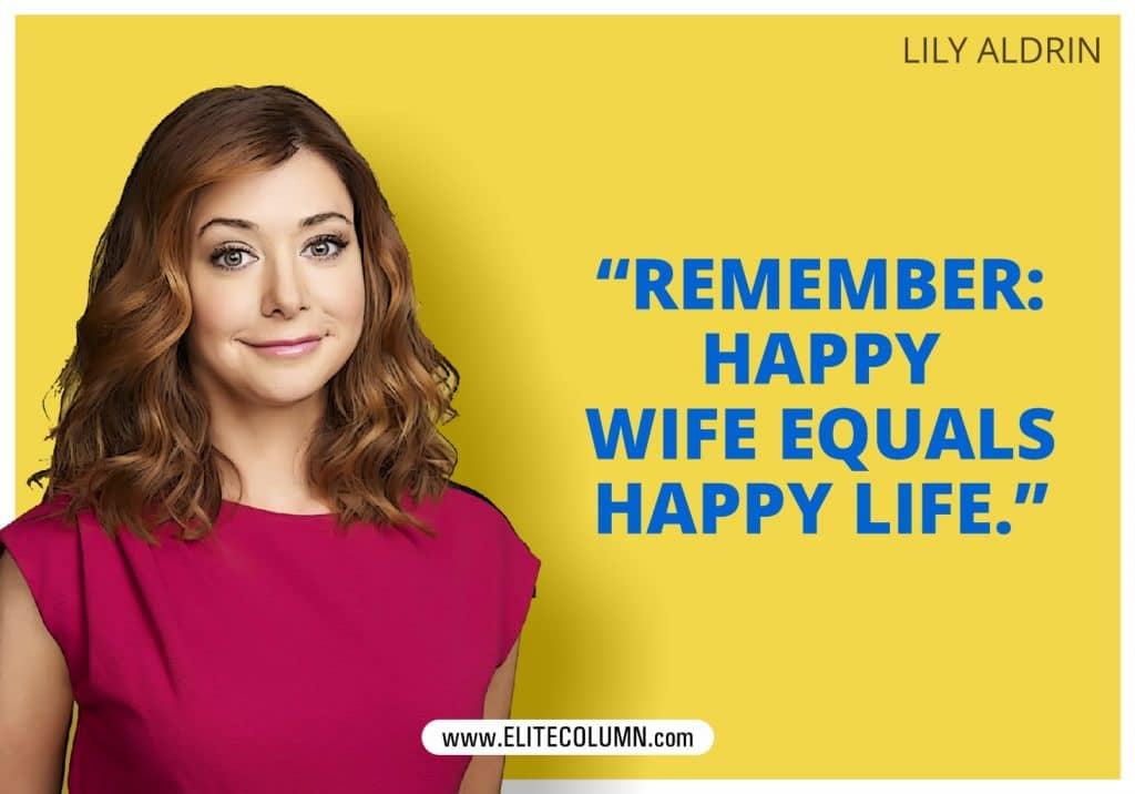 How I Met Your Mother Lily Aldrin poster
