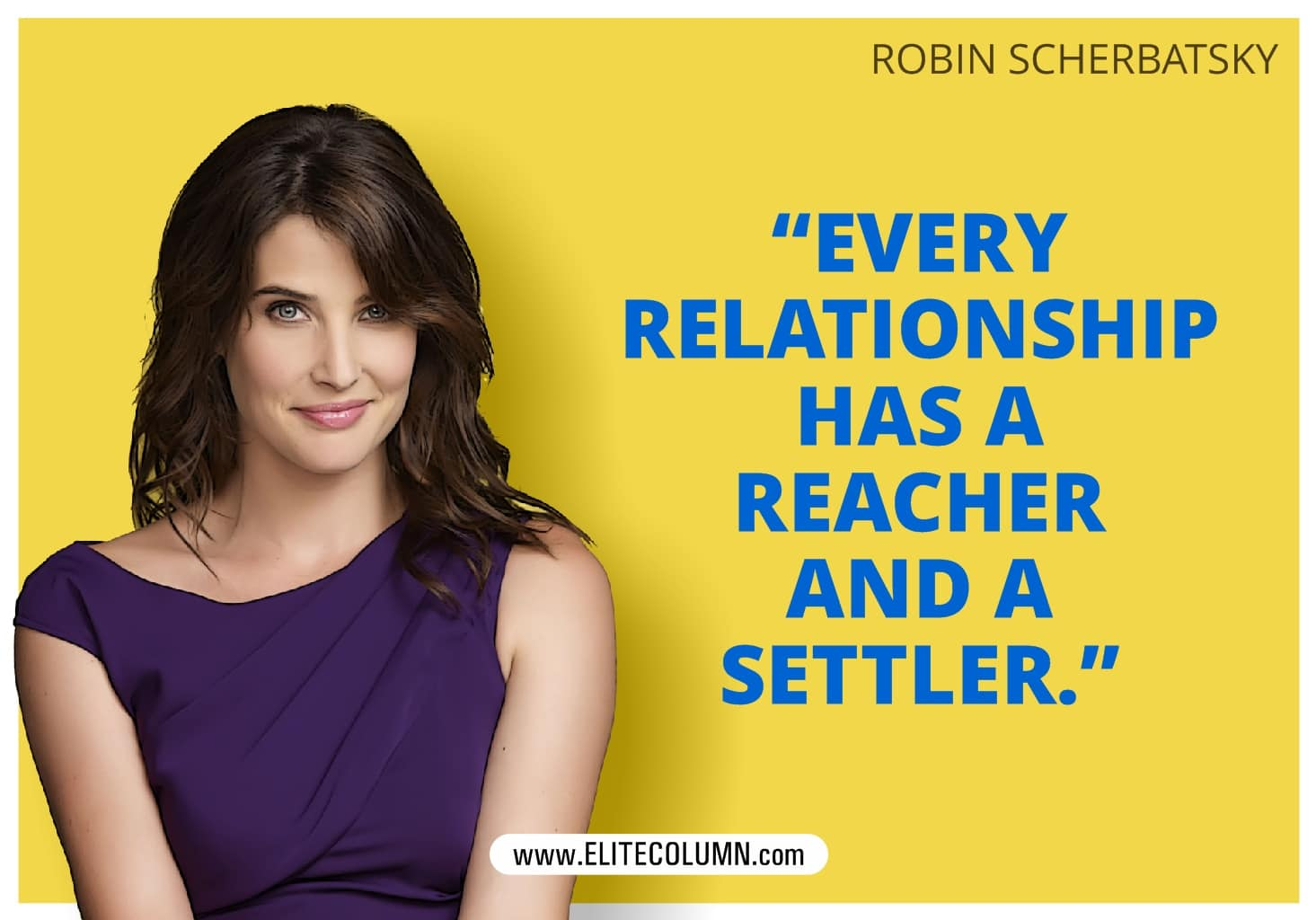 How I Met Your Mother Robin Scherbatsky poster