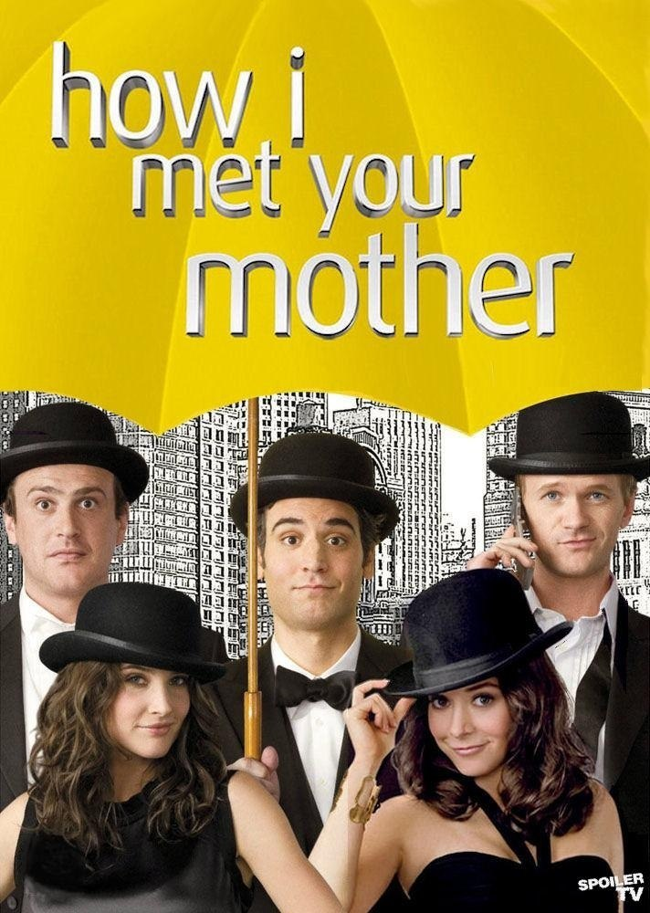 How I Met Your Mother cast poster