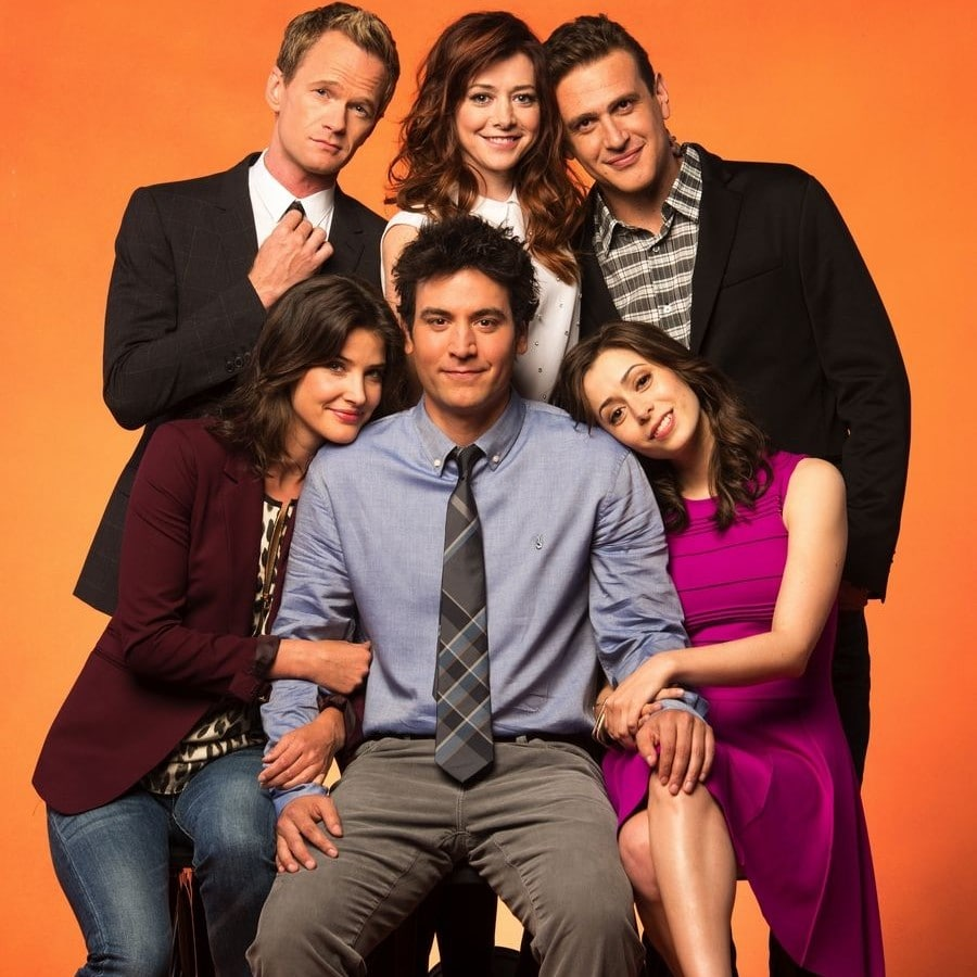 How I Met Your Mother characters poster