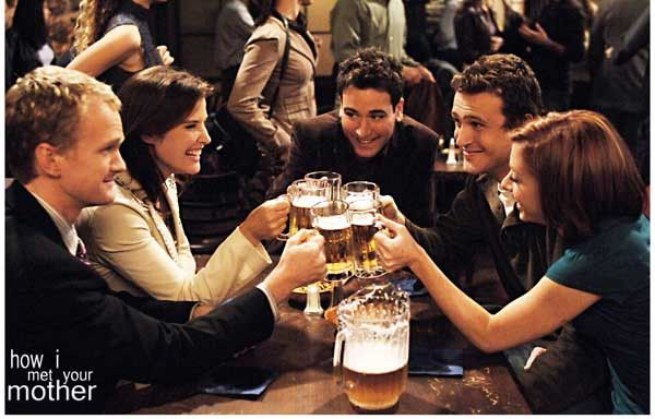 How I Met Your Mother Bar poster