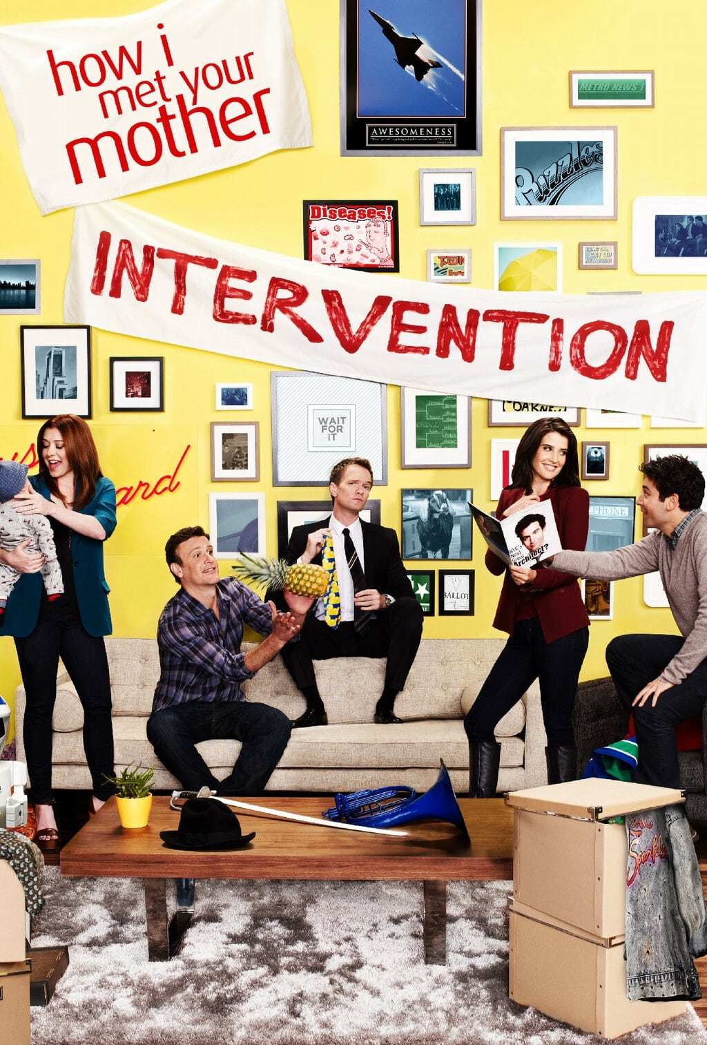 How I Met Your Mother Intervention poster