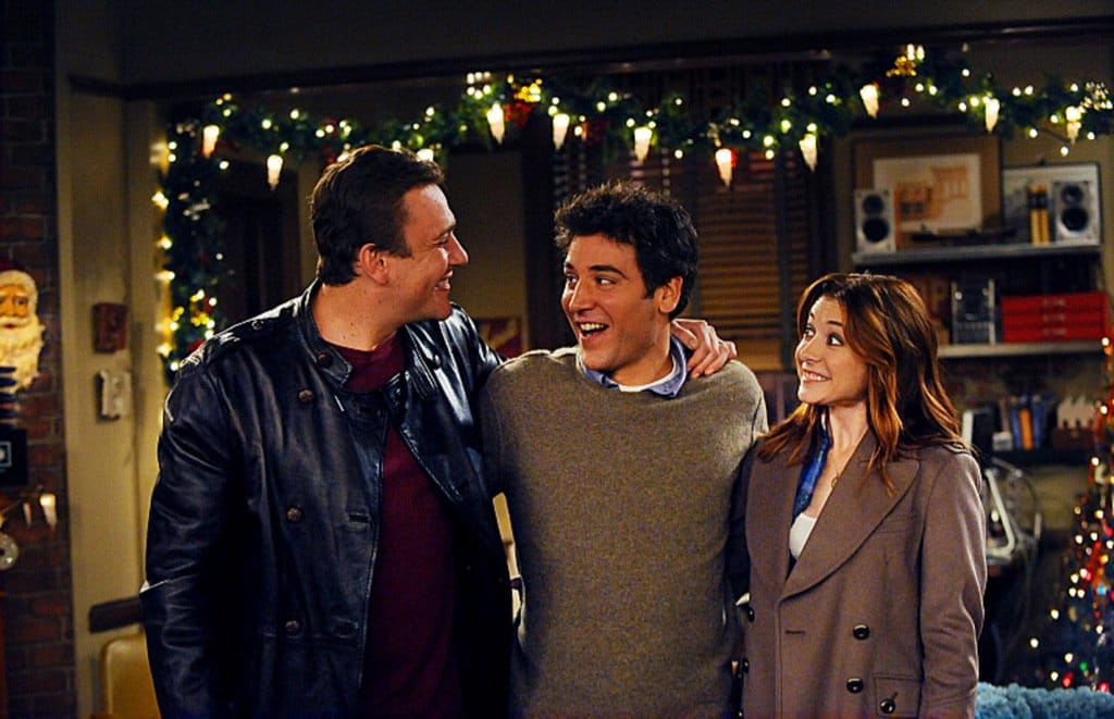 How I Met Your Mother Ted Marshall and Lily poster