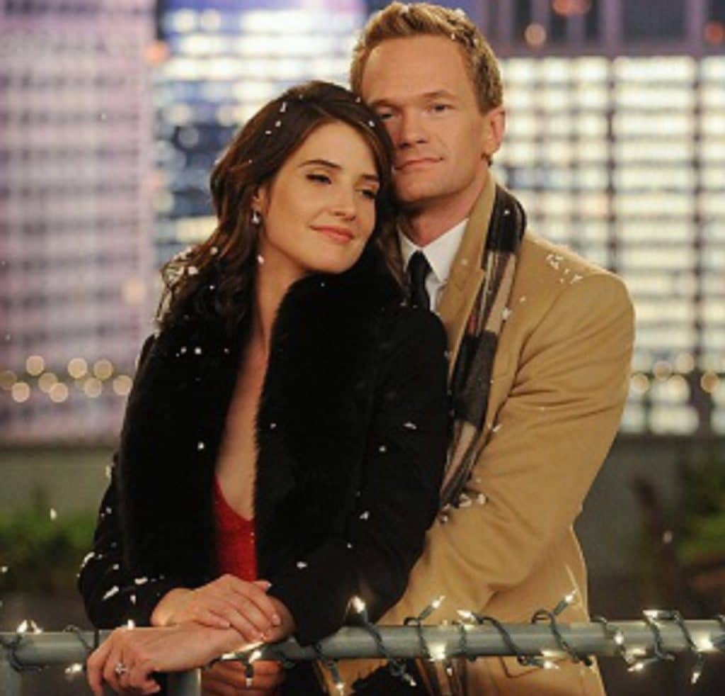 HIMYM Barney and Robin poster