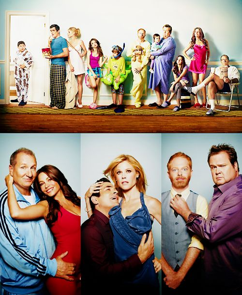 Modern Family couple poster