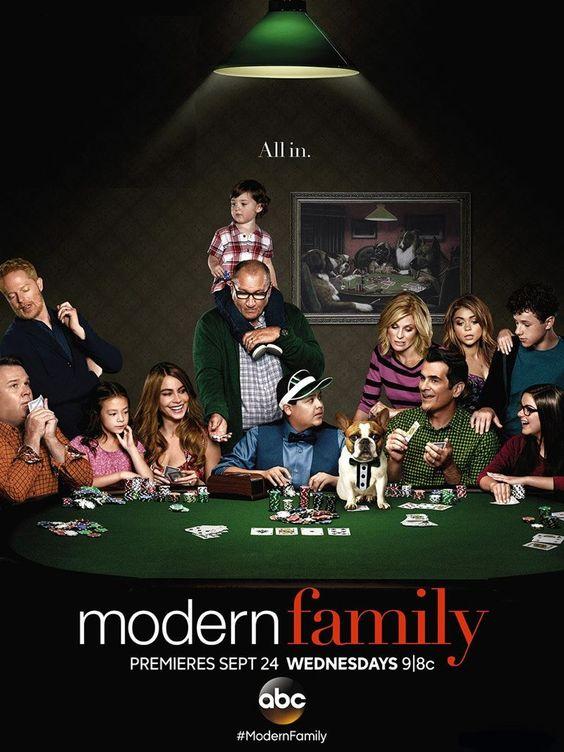 Modern Family poster fan made