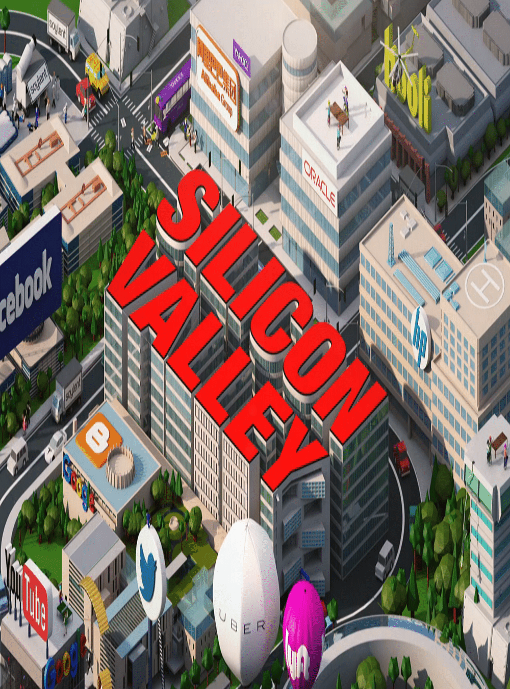 Silicon Valley Poster - The Intro