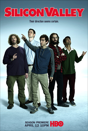 Silicon Valley Printable Poster - The Team (1)