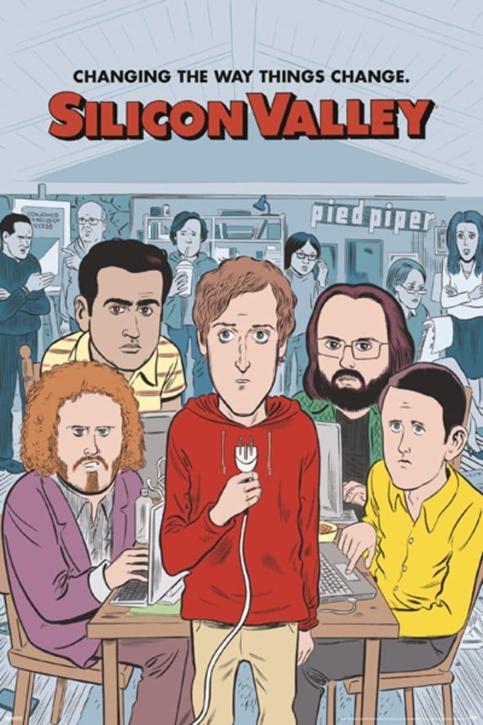 Silicon Valley Poster - Season 4