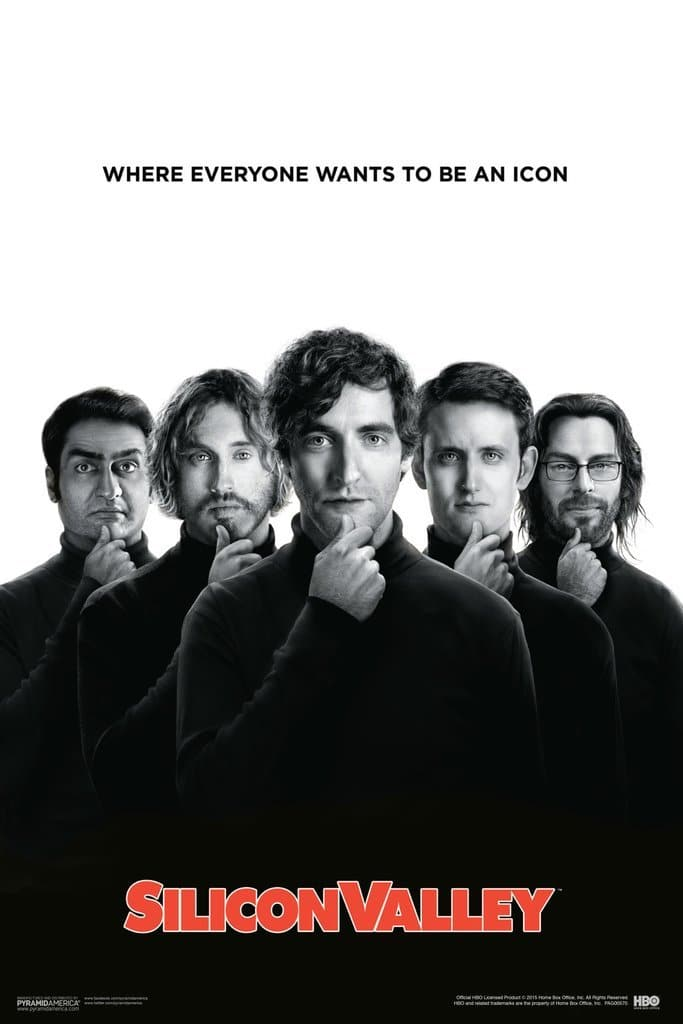 Silicon Valley Poster - First Season