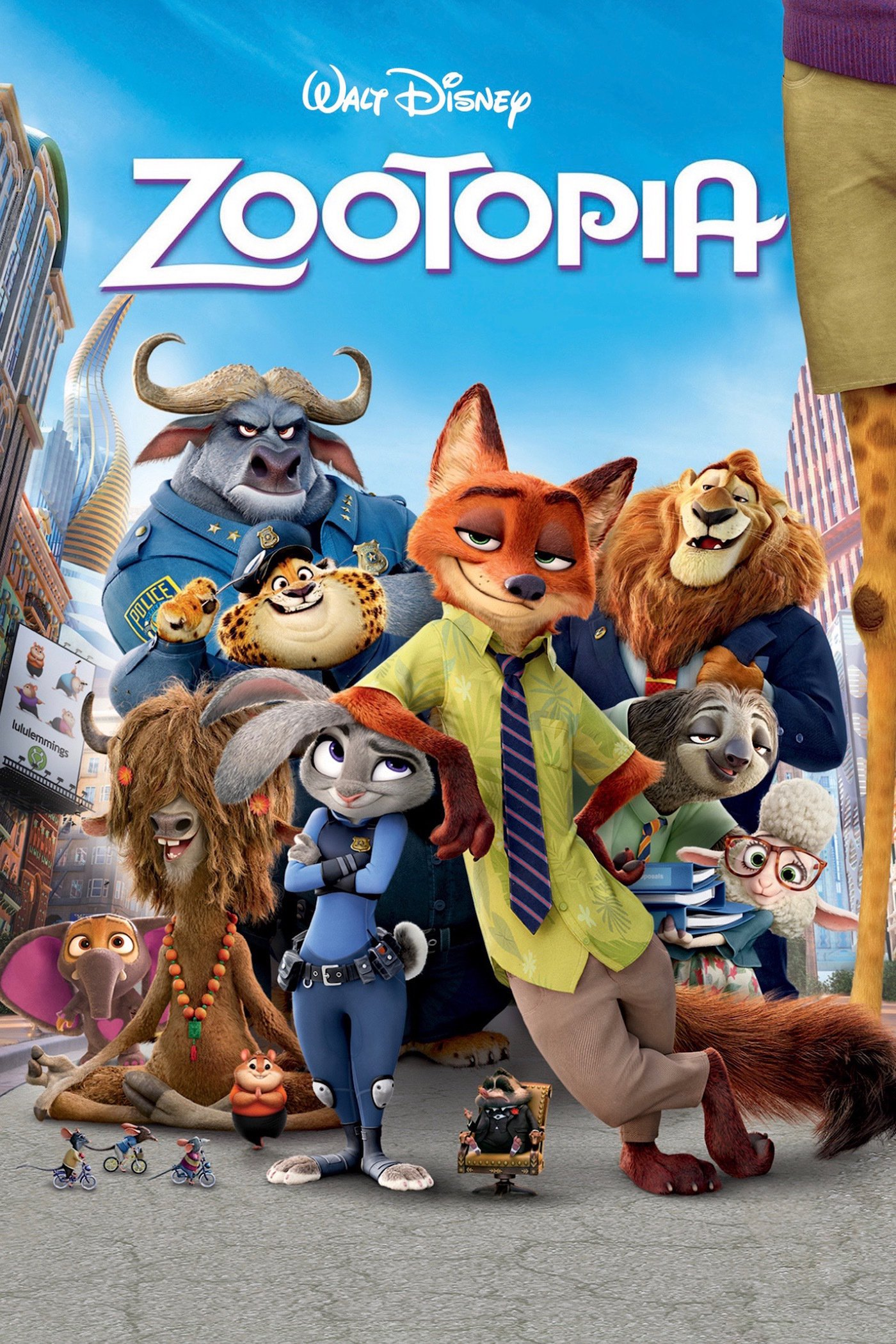 Zootopia Poster Official