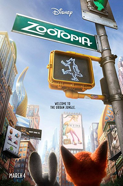 Zootopia Best Posters - The Urban Jungle