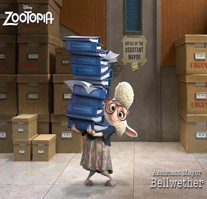 Zootopia Best Posters - Bellwether