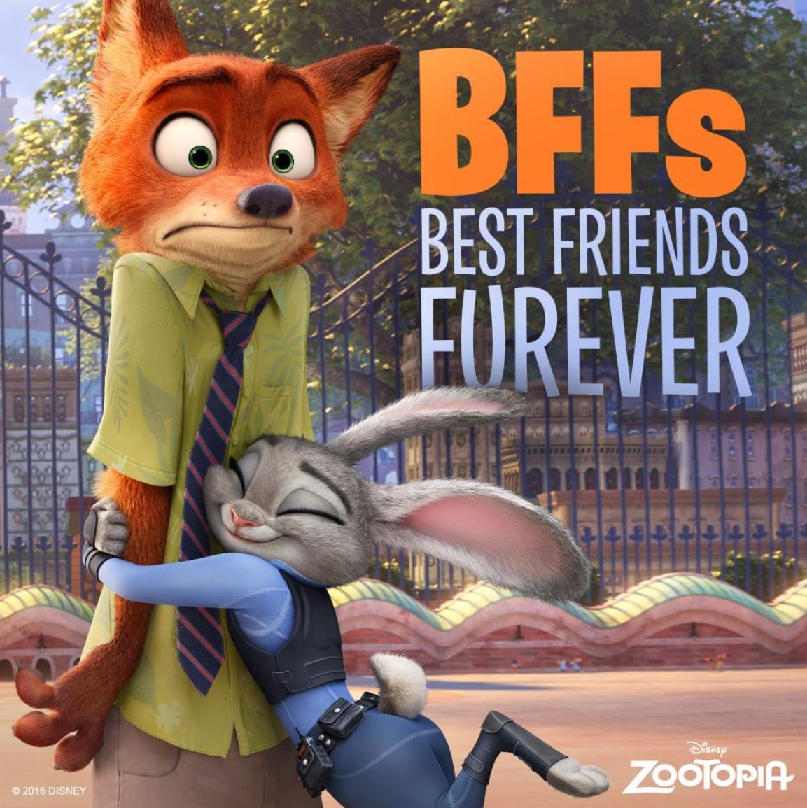 Zootopia Best Posters - Best Friend Forever