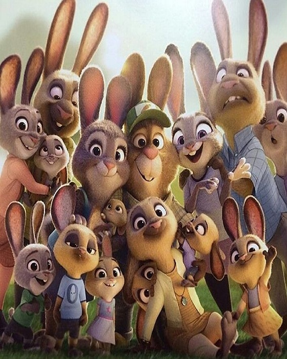 Zootopia Best Posters - Bunny - Family